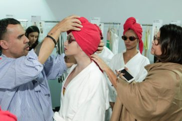 Salinas - backstage - spfw n45 - osasco fashion