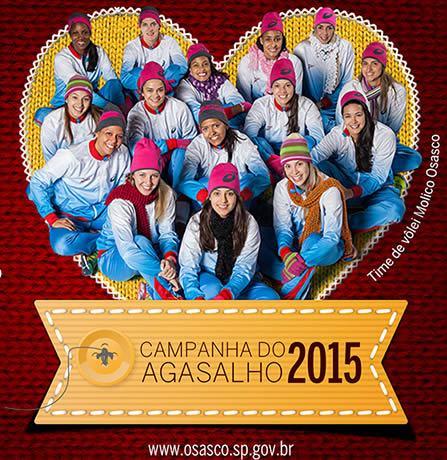 Campanha do Agasalho 2015 Osasco (Imagem: SECOM)