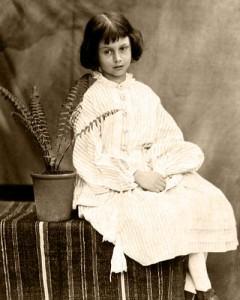 A pequena Alice Liddell inspirou a Alice de Carroll