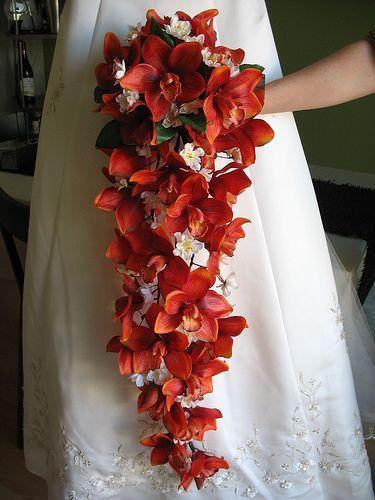 Buquê de noiva Cascata