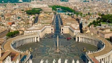 Почивка в Италия, Рим, площад Свети Петър.