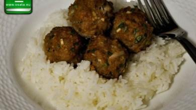 Рецепта за агнешки кюфтенца с ориз