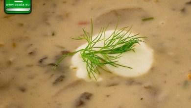 Рецепта за Гъбена крем супа