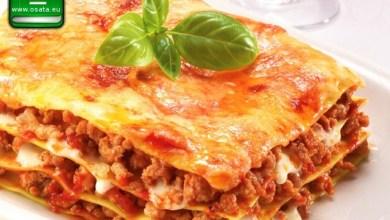 Рецепта за Лазаня с телешко, свинско и моцарела