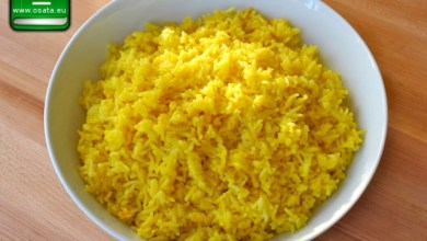 Рецепта как да приготвим ориз с куркума