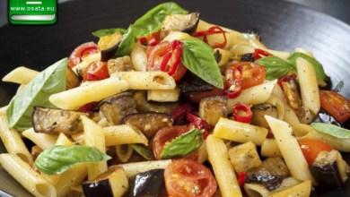 Рецепта за Паста с чери домати и патладжан