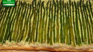 Рецепта за тарт с аспержи и бутер тесто