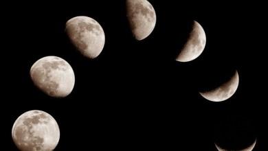 Лунен календар с Фазите на луната за 2017 година