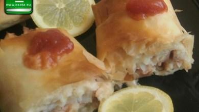 Рецепта за банички с филета от бяла риба