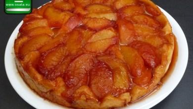 Рецепта за тарт татен (френски ябълков сладкиш) с бутер тесто