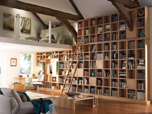 Обзвеждане - дизайн за домашната библиотека