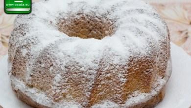 Рецепта за лесен кекс с кисело мляко