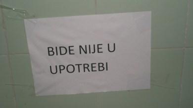 С Юбим на Нова година в Сърбия хотел Моравица, Сокобаня - бидето не работи