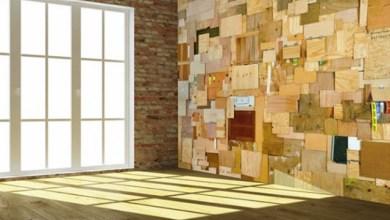 Стикери, Дървени декорации, Тухли за всичко за декориране на стена