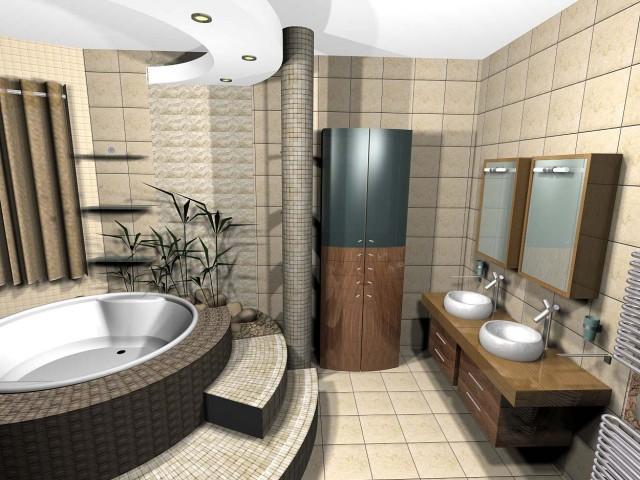 Идеи как да обзаведем модерната баня