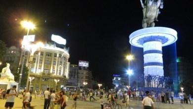 Паметникът на Александър Македонски в Скопие, Македония
