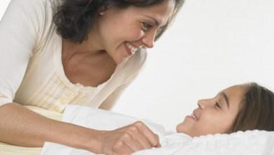 Ако сте ядосани на детето, направете всичко възможно то да си легне с вашата родителска прошка.