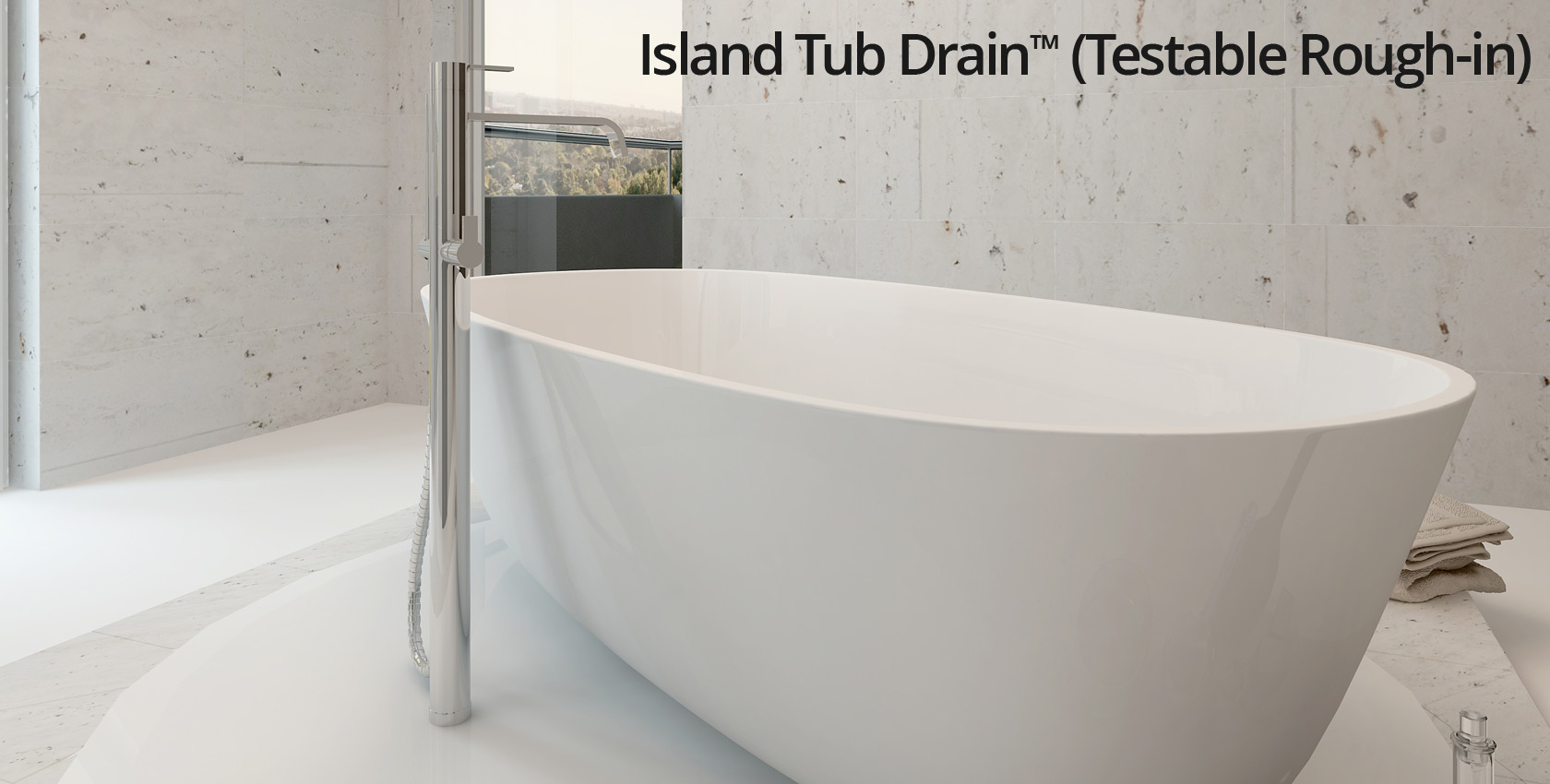 Island Tub Drain Testable Rough In Os B Your Job Just