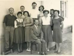 Колектив школе 1959. године