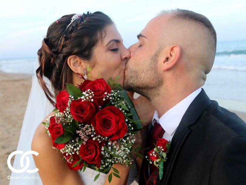 Ver el reportaje de la boda en la playa