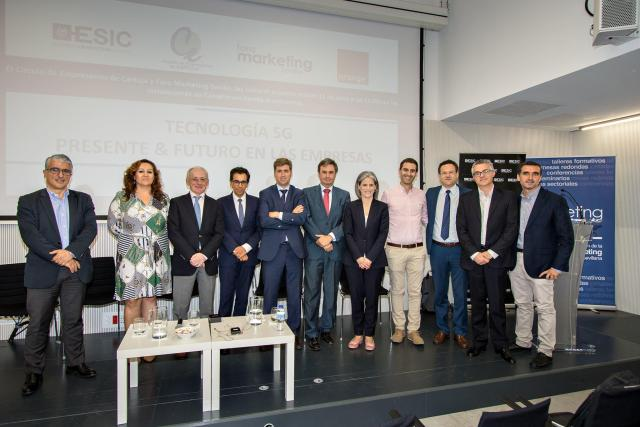 Ponentes evento Tecnología 5G: Presente & Futuro en las empresas