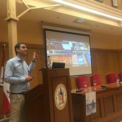 Oscar lage Blockchain ActaCL Industria4.0