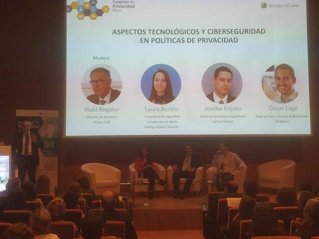 Debate en Congreso de Privacidad Bilbao
