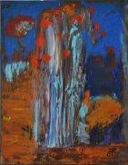 Artificio, Acrilico su tela, cm.41x32, 2014