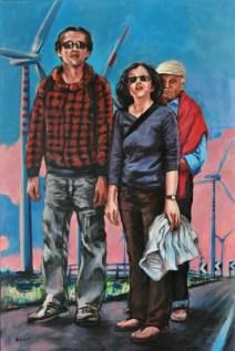 NEW ROADS, Acrylic on canvas, cm.150x100, 2011