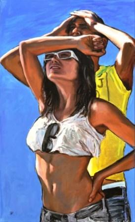 Sconfini, Acrylic on canvas, cm.120x70, 2012 ■