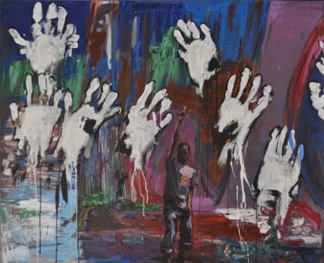 Acrylic on canvas, cm.100x120, 2016
