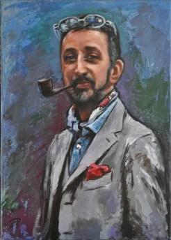 Alberto, Acrylic on canvas, cm.70x50, 2016