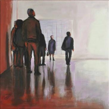 EXPO UP1, Acrylic on canvasa, cm.40x40, 2016