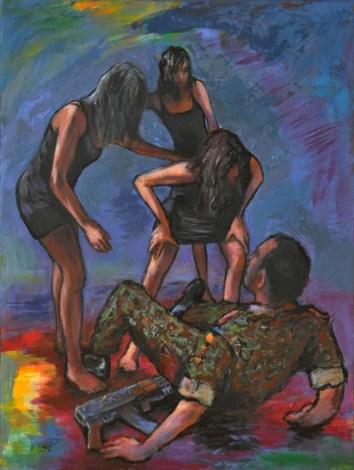 La forza della ragione, Acrylic on canvas, cm.80x60, 2015