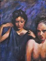 La prova, Acrylic on canvas, cm.35x25, 2011 ■