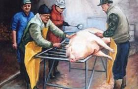 Norcini reggiani, Oil on canvas, cm.50x70, 2009 ■