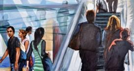 FLUGHAFEN, Acrilic on canvas, 80x150, 2010 ■