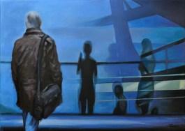 RANSIT AREA, Acrilico su tela, cm.50x70, 2012