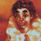 PICCOLA MODELLA - Oil on canvas cm 50X40, 1975 ■