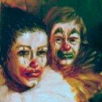 VICINO E LONTANO, Oil on canvas, cm 80×60, 1975 ■