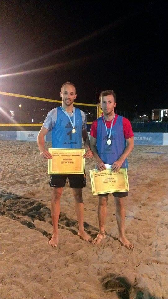 Pobjednici: Simović i Marojević