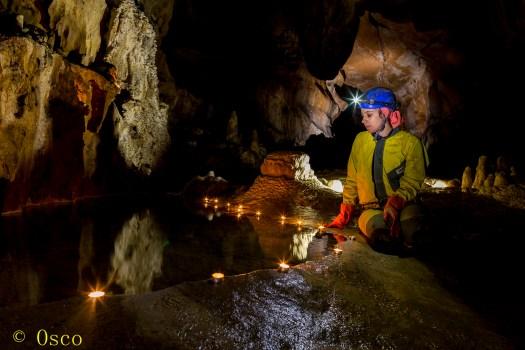 Galería vieja de Cueva Huerta