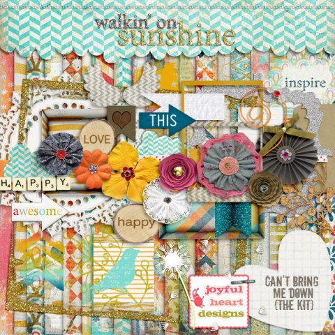 Walkin' on Sunshine from Joyful Heart Designs