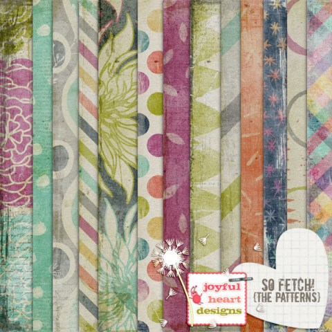 So Fetch The Patterns from Joyful Heart Designs