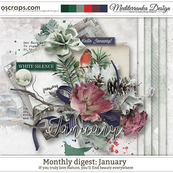 Monthly Digest: January (Mini kit)