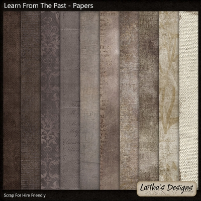 Laitha's Designs - Learn From The Past Papers