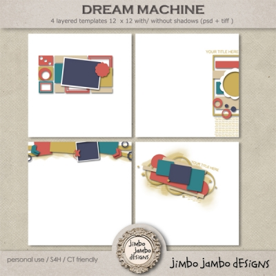 Dream Machine from Jimbo Jambo Designs