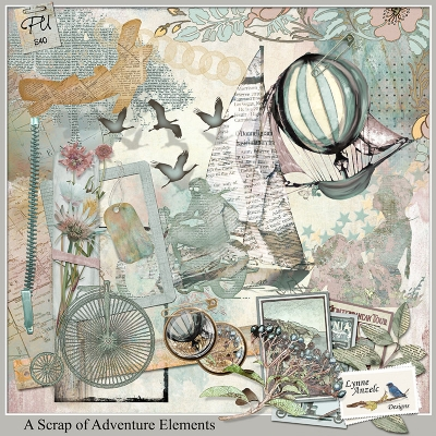 A Scrap of Adventure - Lynne Anzelc Designs