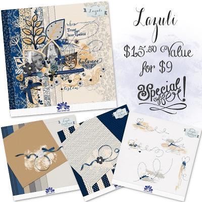 Lazuli Collection from Blue Flower Art