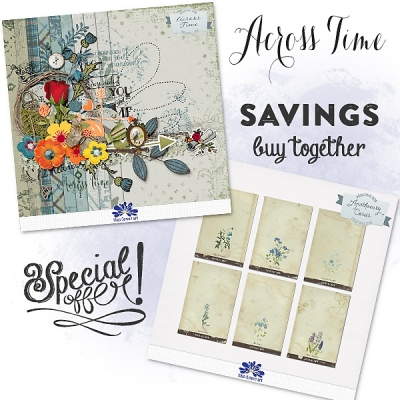 Across Time Collection from Blue Flower Art